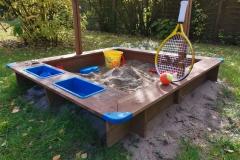 Sandkasten für die Kleinsten